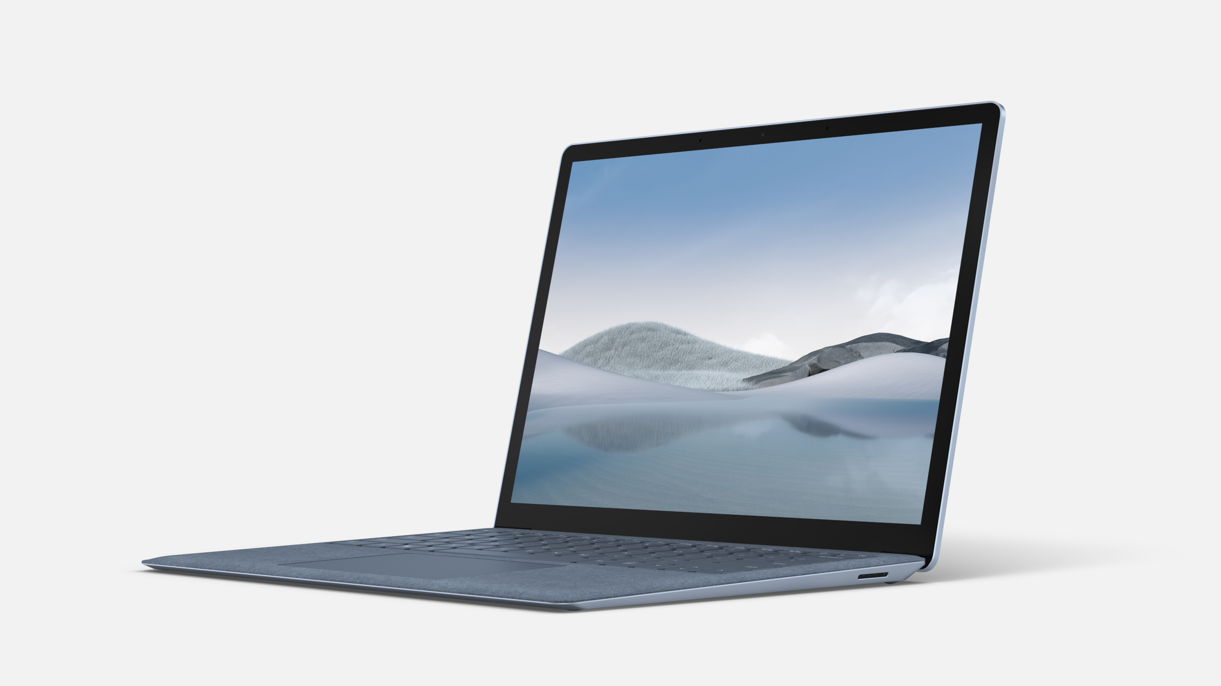 A marketing render of a Surface Laptop 4 on a white background