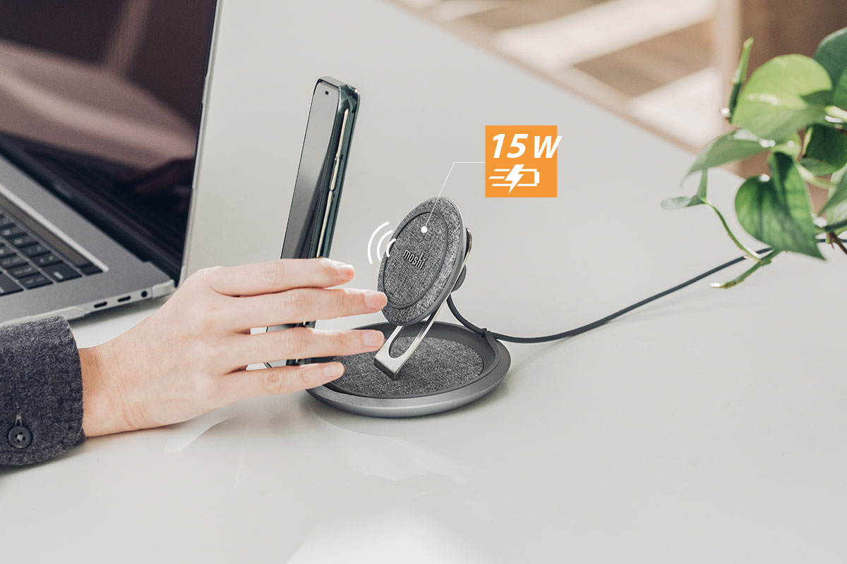 Благодаря профилю увеличенной мощности (EPP) Lounge Q поддерживает быструю зарядку до 15 Вт, а также стандарт быстрой зарядки iOS.