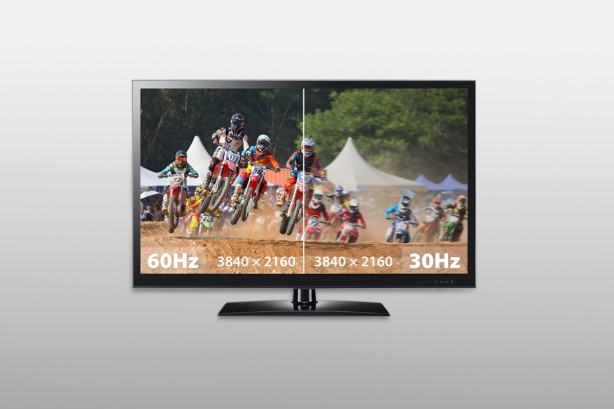 HDMI-compliant to support both Full HD (1080p) and Ultra HD (4K) displays at up to 60 fps.