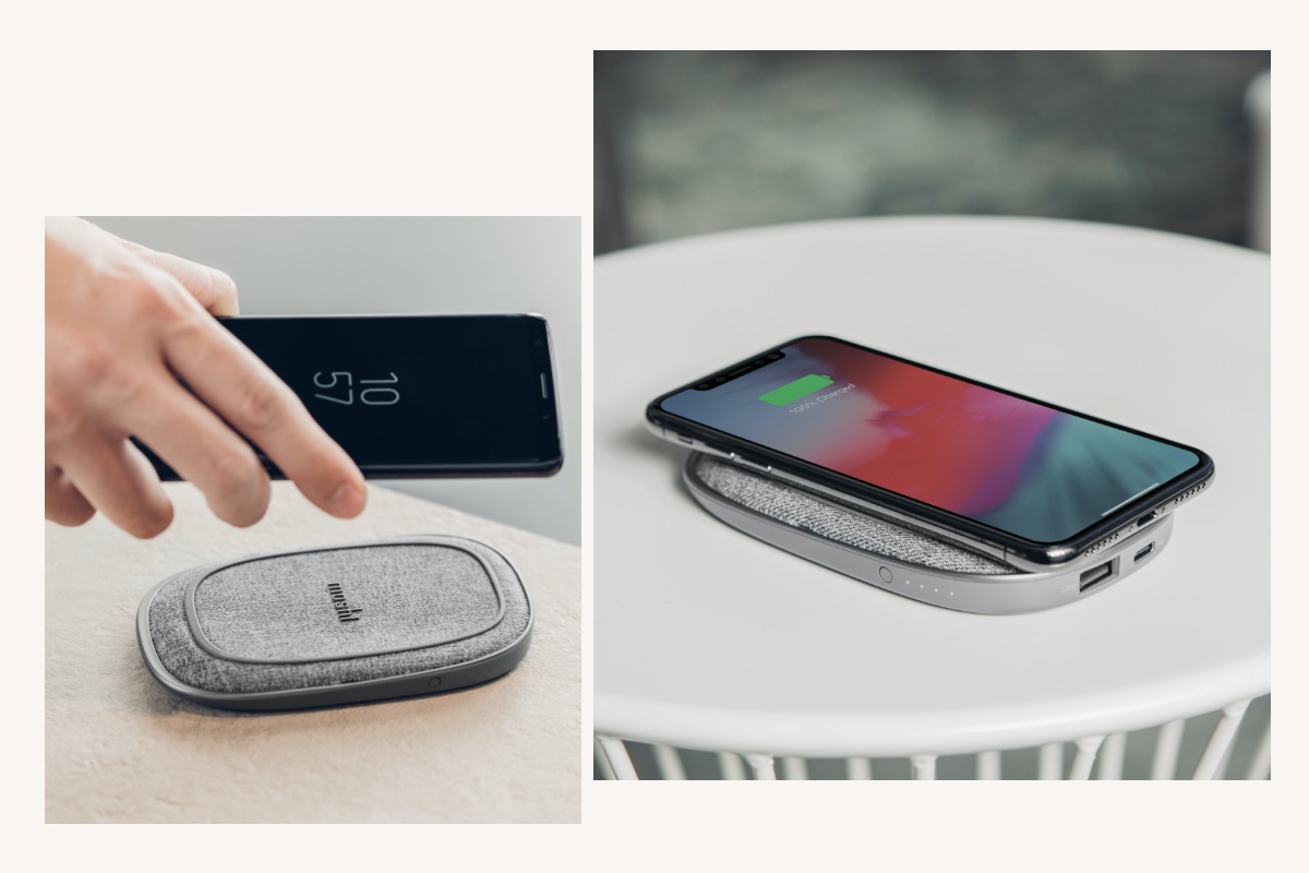 Otto Q is certified by the Wireless Power Consortium for interoperability with other Qi devices including Samsung, Google, Apple, and LG smartphones, and AirPods.