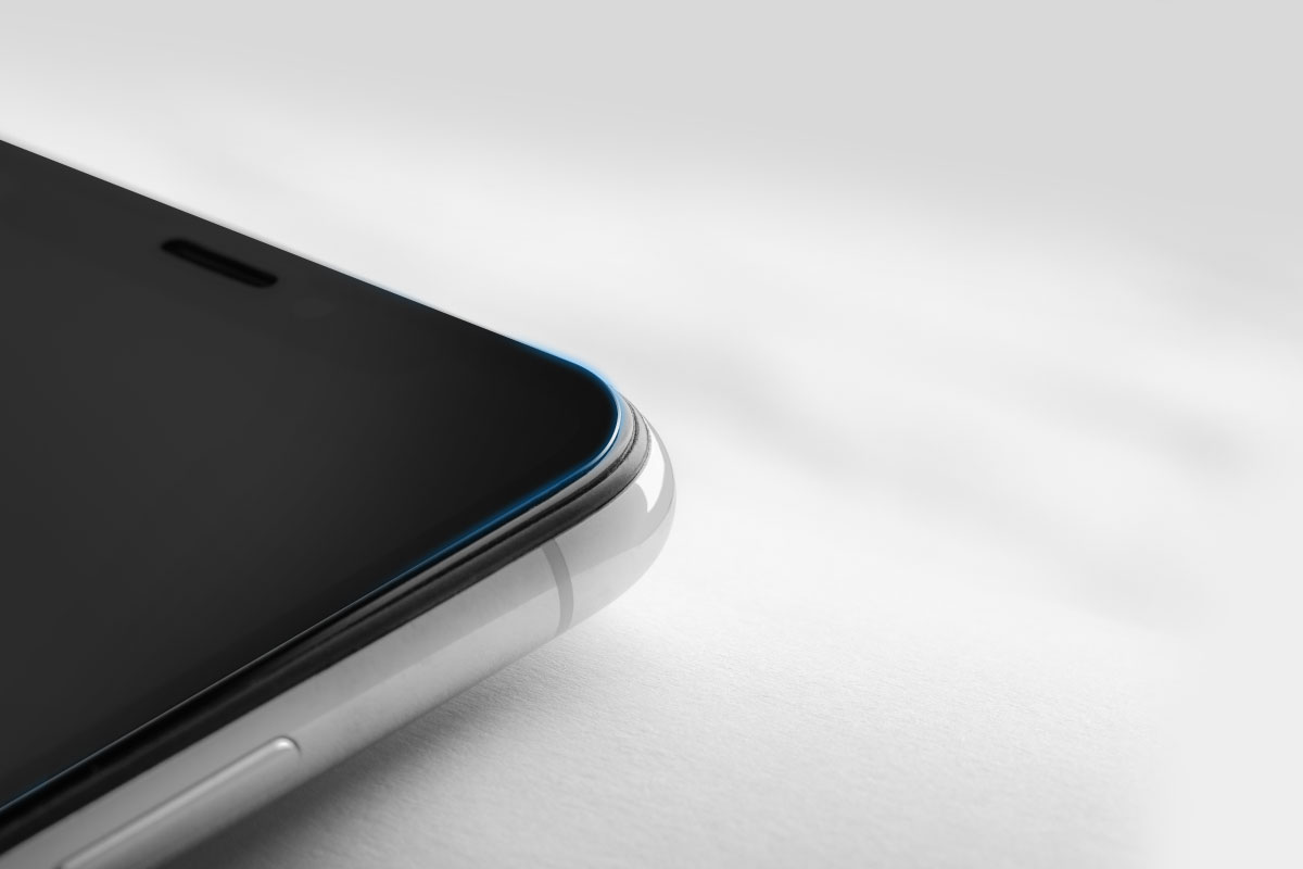 Rounded edges and cutouts to fit your iPhone's screen perfectly