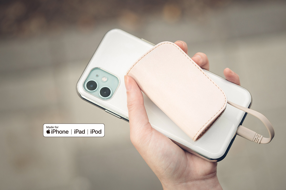 Garantierte Kompatibilität zum Laden Ihres iPhone, iPad oder eines anderen Geräts mit Lightning-Anschluss.