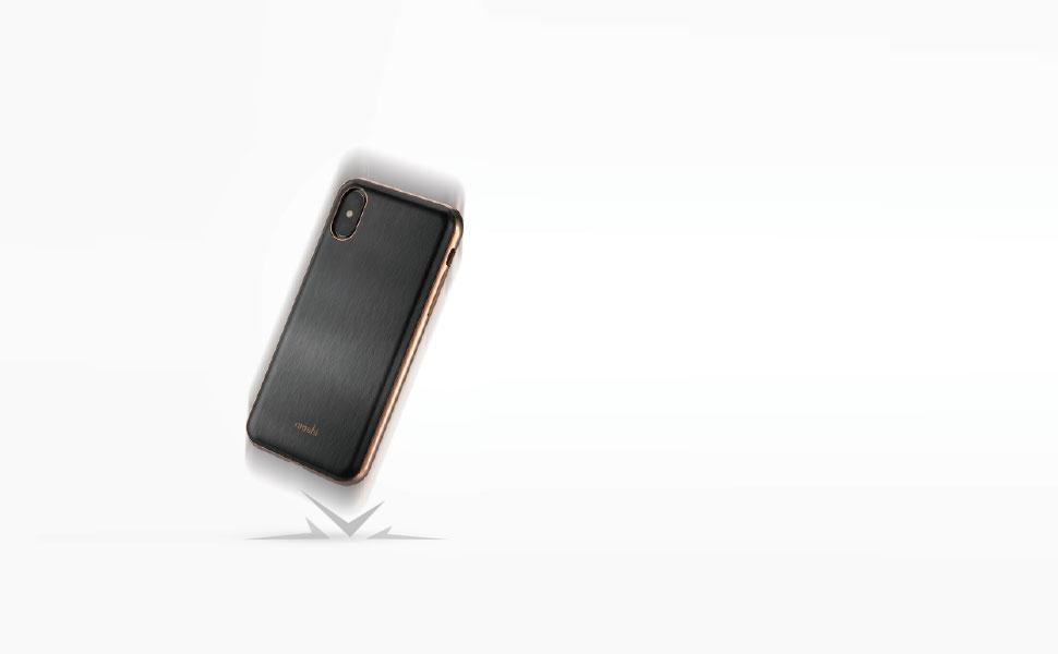 iGlaze protege su teléfono de caídas, rasguños y golpes.