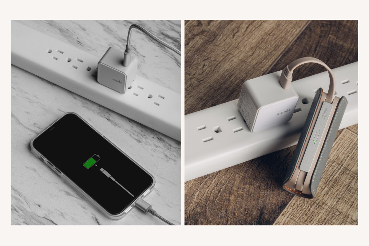 Our Qubit USB-C Charger is compatible with a wide range of devices including iPhones, iPads, Android, and portable batteries and is ideal for users who want a powerful and travel-friendly charging solution for their phone.