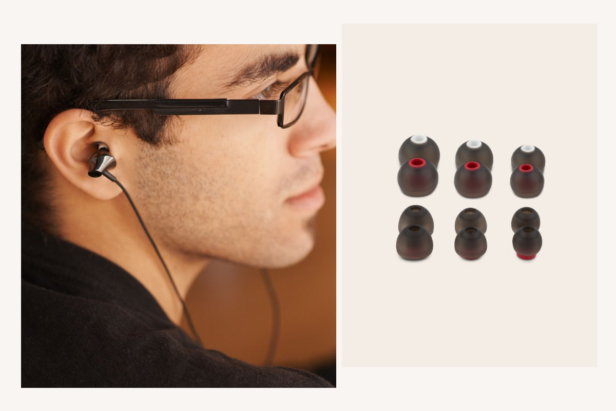 Keramo comes with six sets of hybrid silicone eartips to help you get the best possible seal between the ear tip and your ear canal and achieve maximum noise isolation.