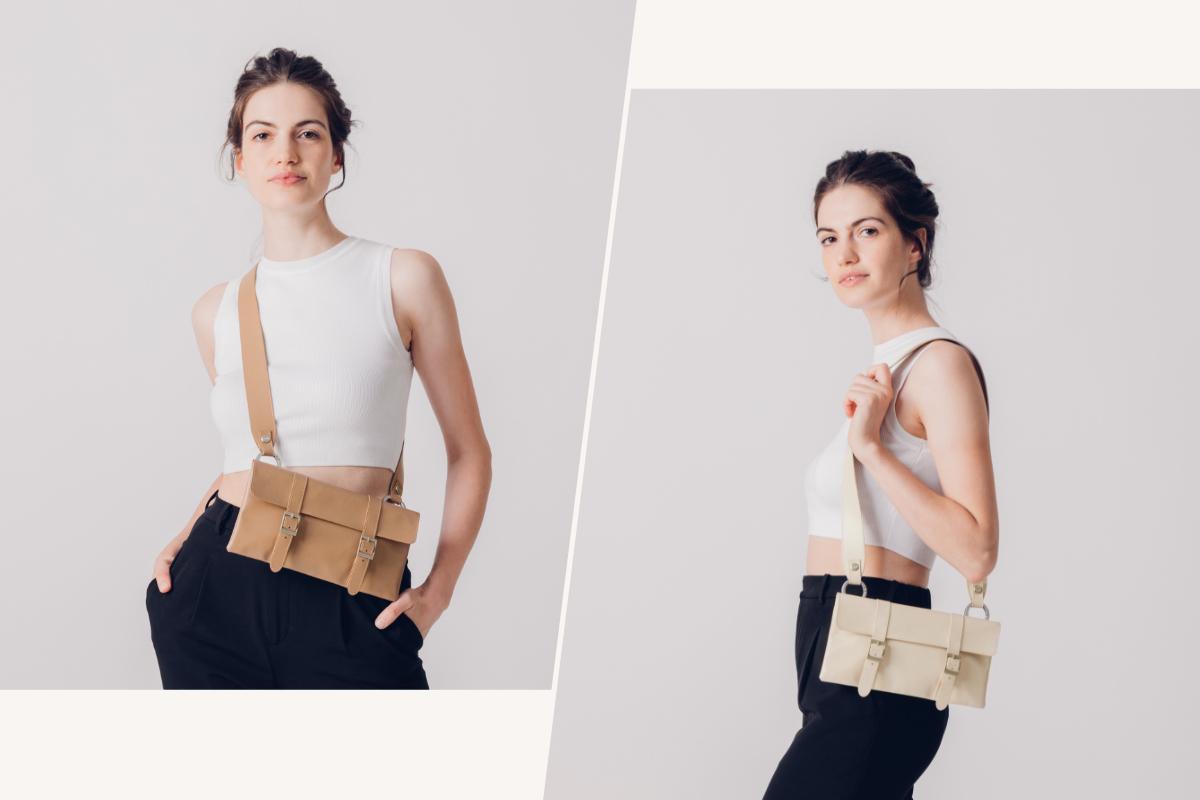 Mit ihrem schlichten, aber eleganten Design passt sie perfekt zu den meisten Anlässen. Tragen Sie die Tasche über der Schulter oder als Crossbody. Relaxter Stil für den alltäglichen Gebrauch.