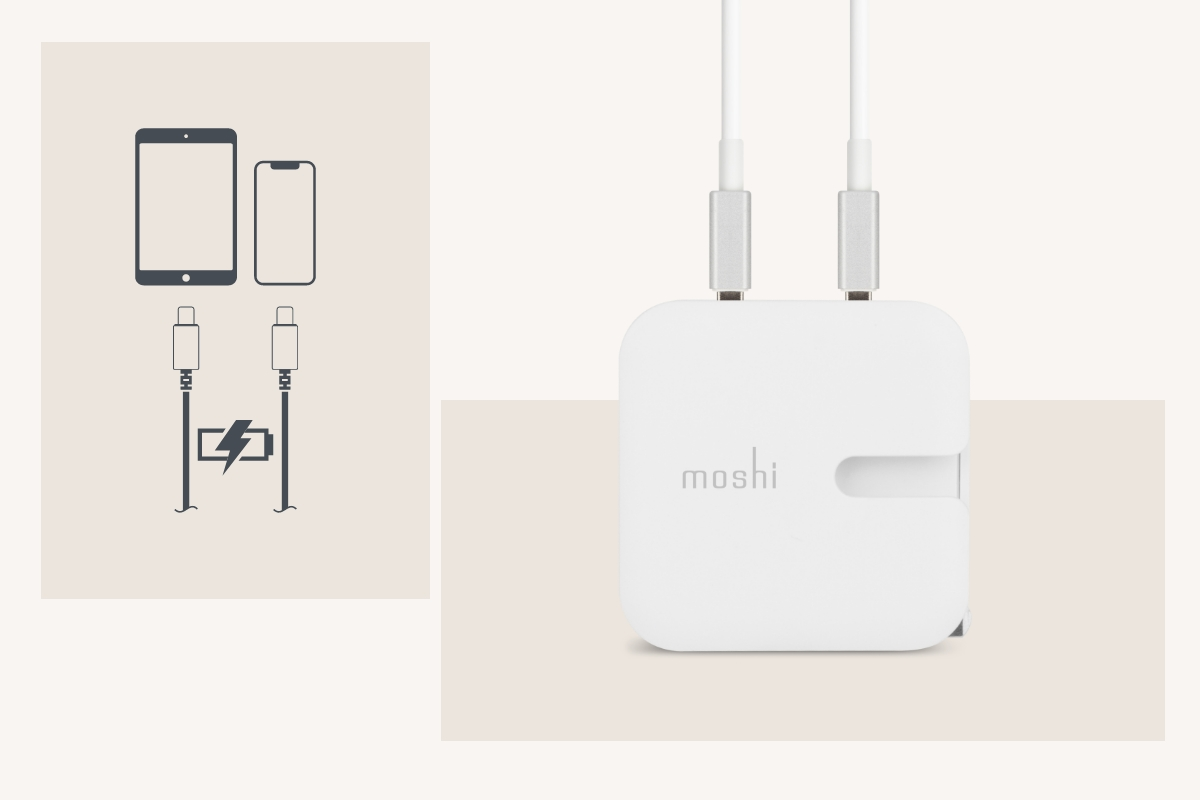 Includes one USB port which provides up to 2.4 A for power-hungry iPads and tablets.