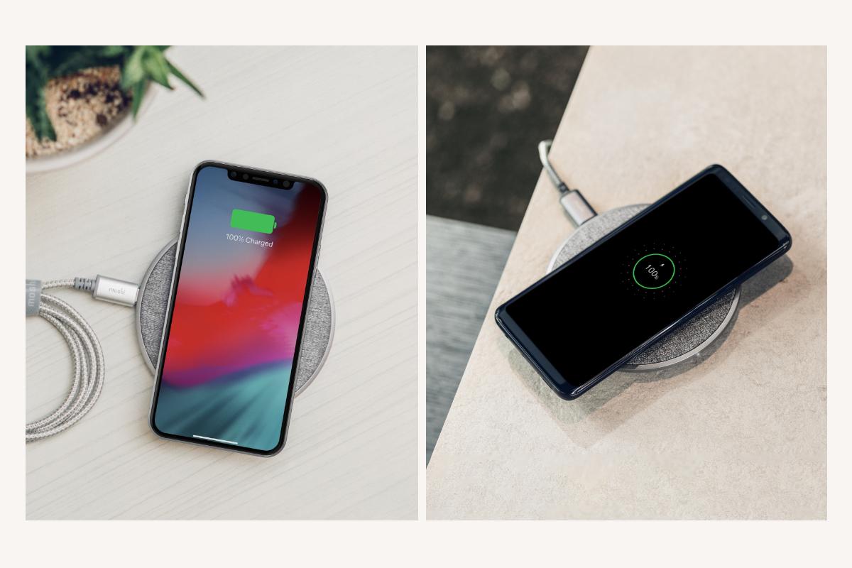 Otto QはSamsung、Google、Apple、LG社製のスマートフォンはもちろん、AirPodsなど、他のQiデバイスとの相互運用性についても、ワイヤレスパワーコンソーシアムによるQi認証を受けています。