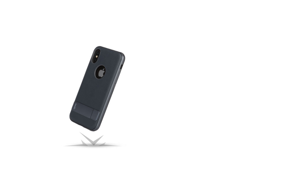 Kameleon safeguards your iPhone from drops, scratches, and shocks.