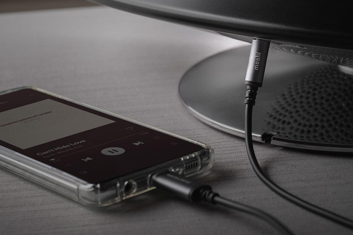 Évitez les maux de tête associés au Bluetooth avec ce câble. Vos amis et vous-même pouvez vous connecter pour écouter de la musique immédiatement.