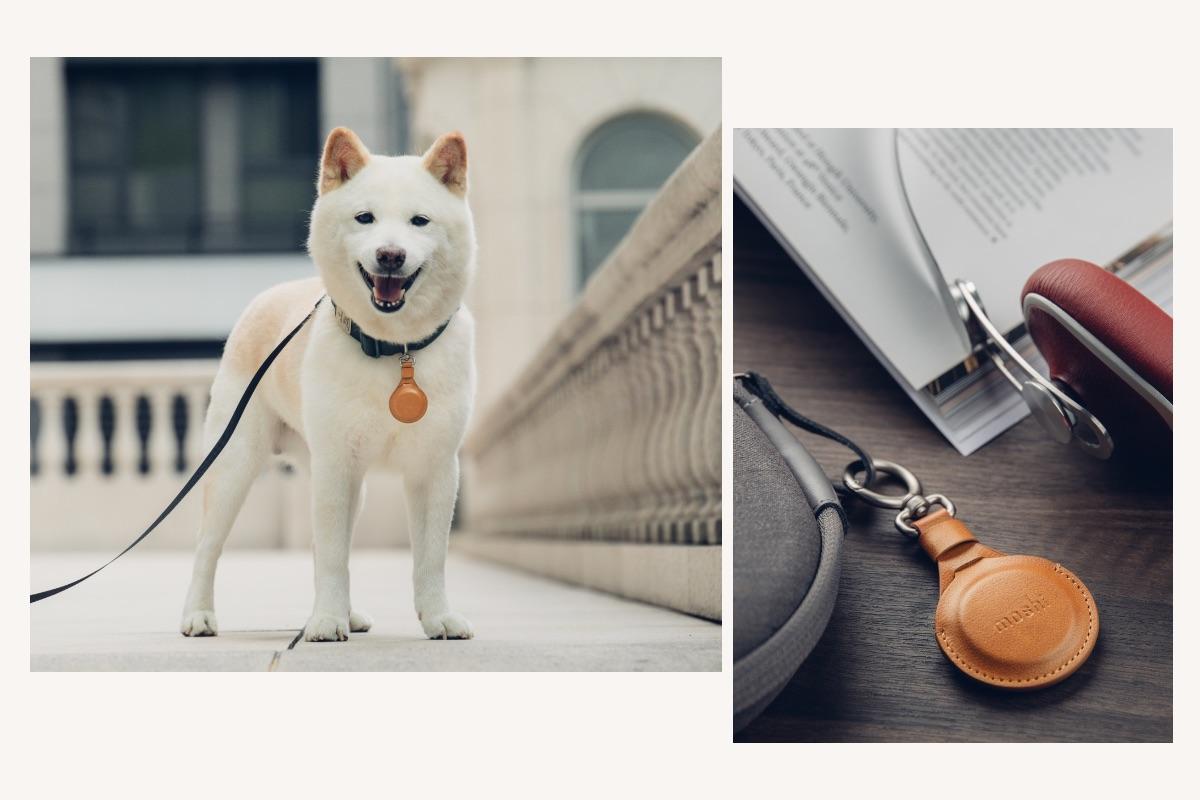 鋅合金彈簧掛扣形式,能便利快速地將 AirTag 鑰匙圈固定在重要物品上。無論是包包、鑰匙、錢包、行李、寵物項圈或各種隨身物品,皆可便利佩掛。