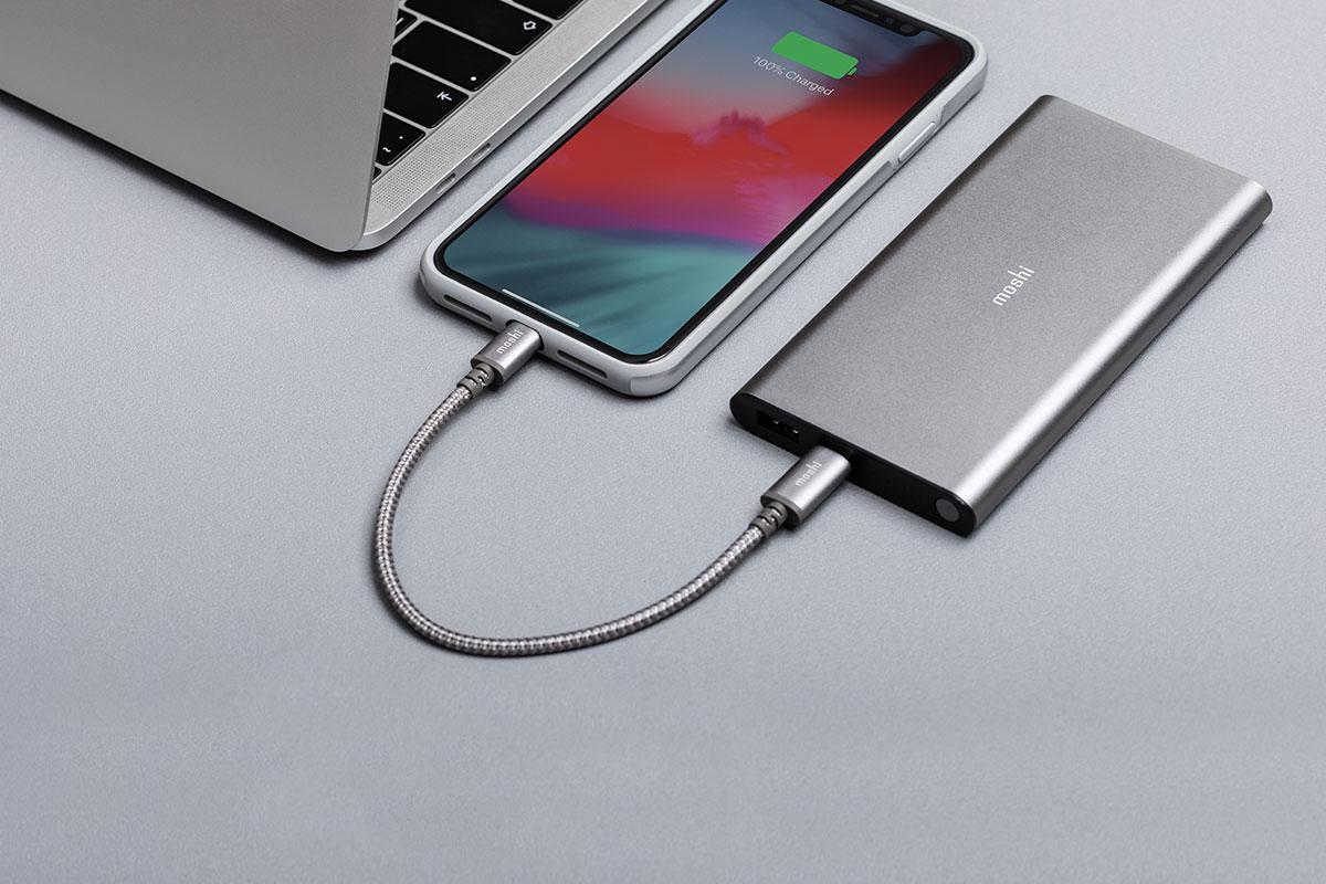 Prise en charge de la norme USB PD (alimentation électrique) jusqu'à 30 W. Prend en charge les vitesses de transfert de données USB.