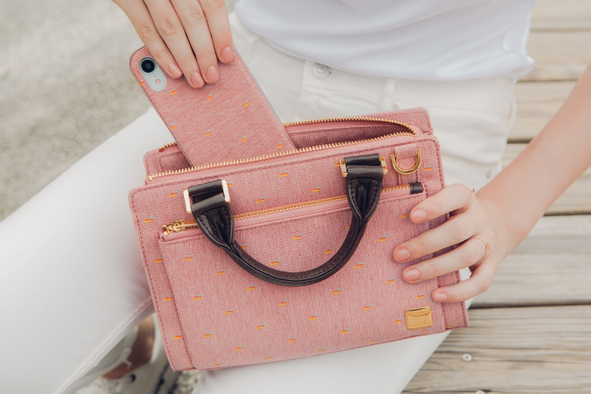 Moshi's new bag collection infuses the company's background in design and technology to create stylish bags that carry all of your essentials in style.