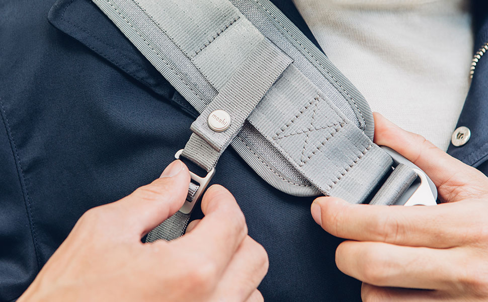Ваша сумка всегда останется неподвижна во время езды на велосипеде или прогулки в людных местах.