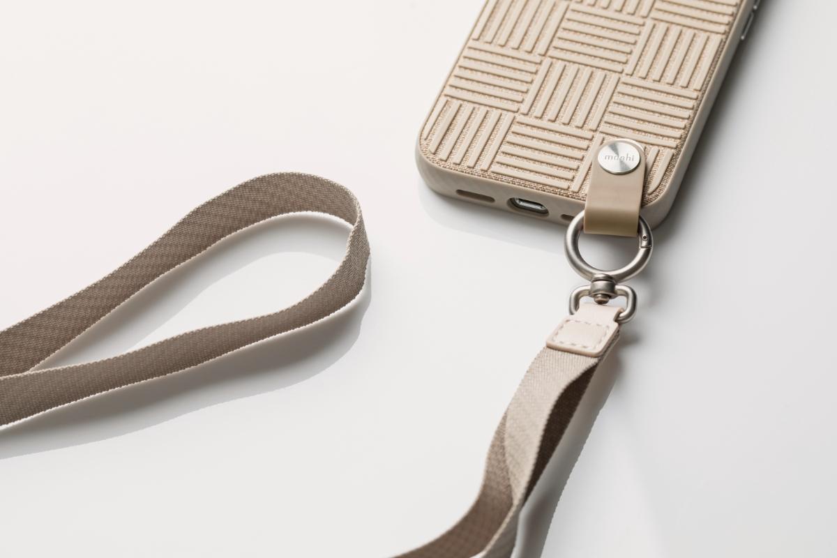 可调式挂绳不仅可以搭配 Moshi 推出的 Altra 超薄腕带保护外壳使用,也可以应用于钱包、钥匙、证件套等。同时购买 Altra 腕带保护壳及可调式挂绳可享 $5 折扣 (适用美国/加拿大/欧盟地区)。折扣于结帐时合并计算。