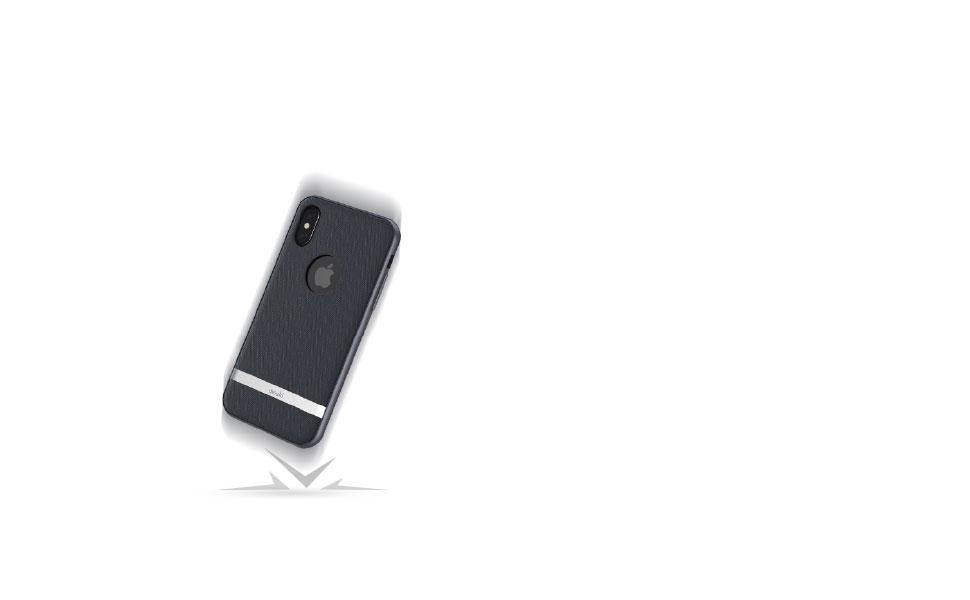 VestaはiPhoneを落下、傷、衝撃など様々な状況からしっかり保護。