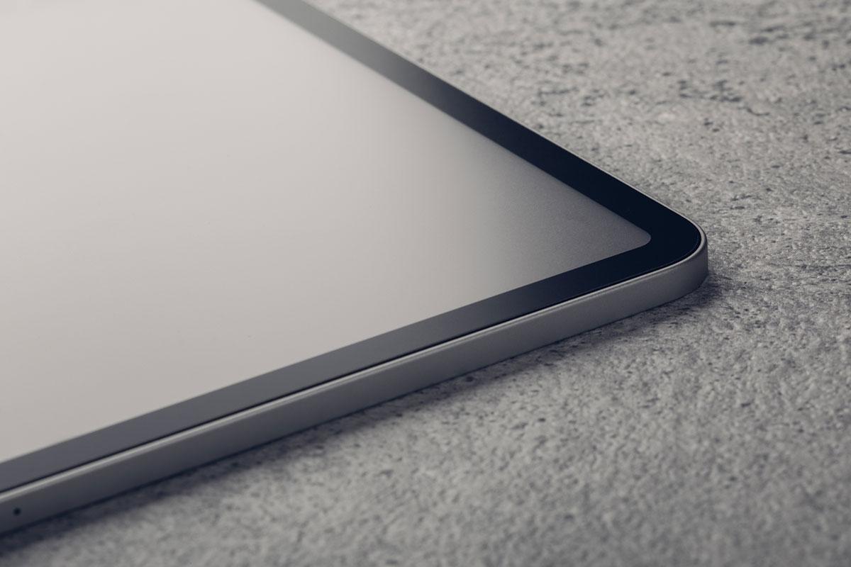 iPadのタッチスクリーンを完全に保護し安心してご利用いただけます。