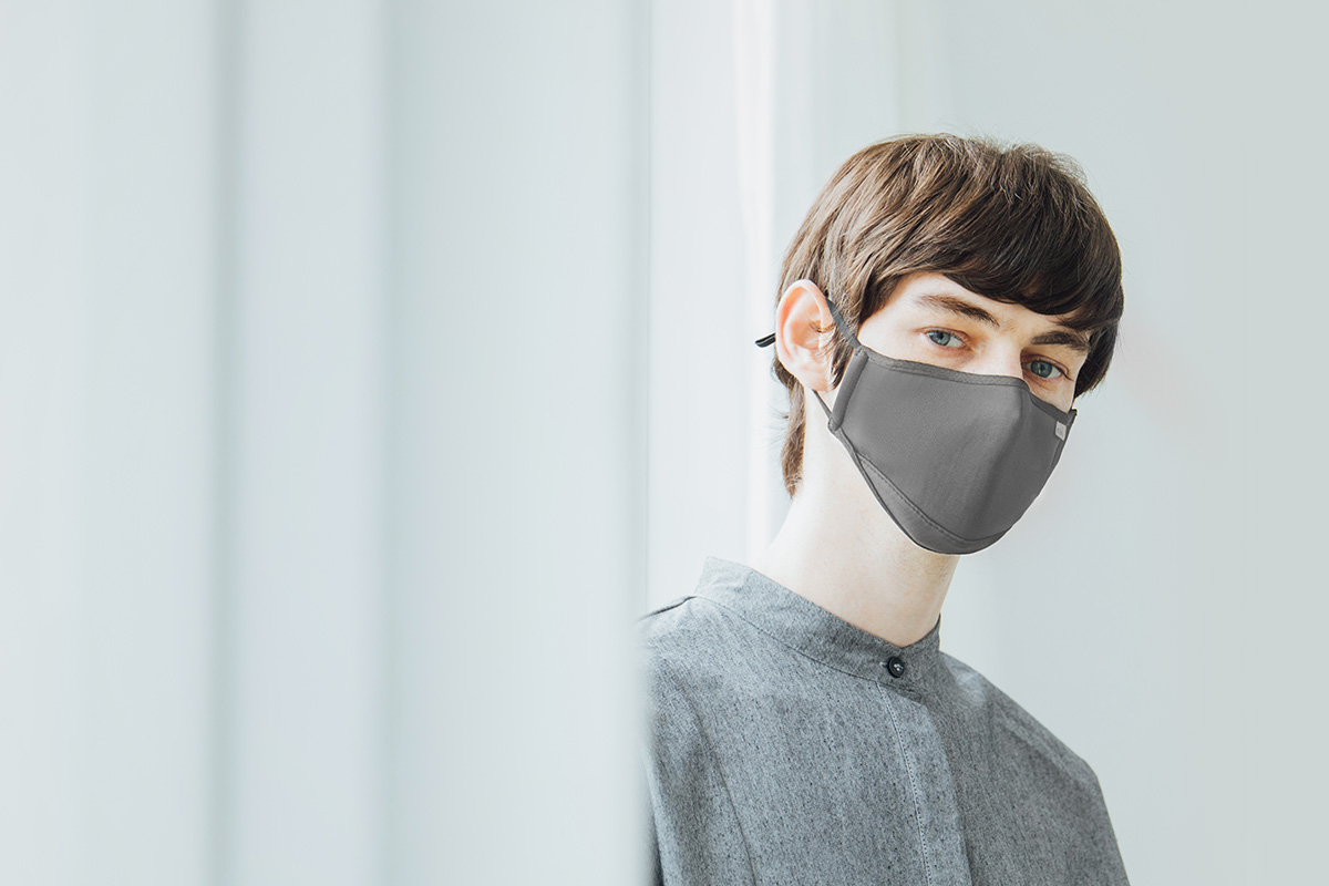 Moshi's OmniGuard™ mask filters out particles down to PM 0.075 (75 microns) to protect against bacteria, viruses, pollen, dust, smoke, pollution and more. Our masks have undergone thorough testing to ensure they provide the highest degree of protection against bacteria and viruses, with a Bacterial Filtration Efficiency (BFE) and Virus Filtration Efficiency (VFE) of 99.9%—that's higher than the requirements for an N95 mask.