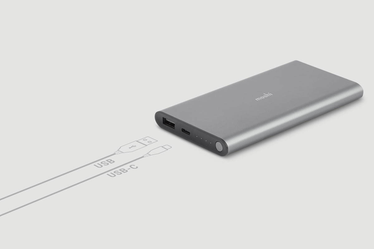 USB-C and USB portable battery