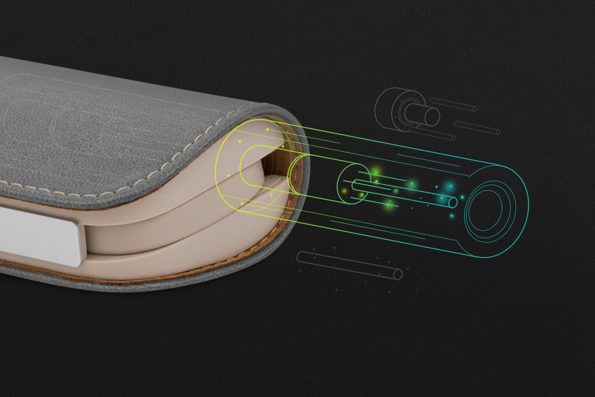 Mit der gleichen Akkutechnologie wie in den neuesten Elektrofahrzeugen sind die Zellen für das Laden, Entladen und niedrigen Innenwiderstand optimiert.