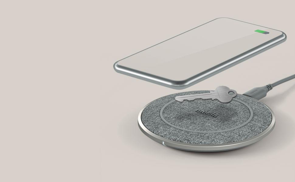 如果檢測到金屬物體,無線充電盤會立即停用,提升充電安全性。