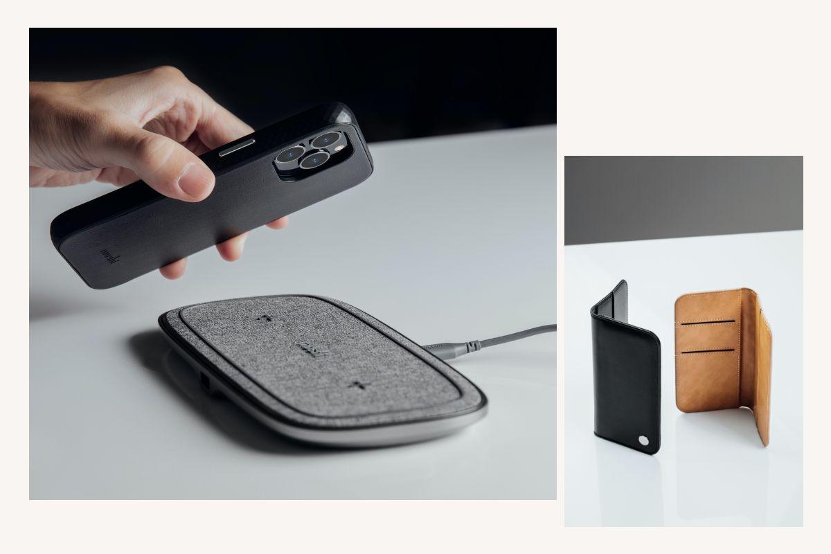 Overtureはカメラのレンズを含めスマートフォンを完全に包み込みテーブルの上やキー、コイン、ケーブルの入ったバッグに入れる時の傷や衝撃から保護します。 写真を撮る際にはそのまま取り外す必要もなくすぐに撮影出来ます。