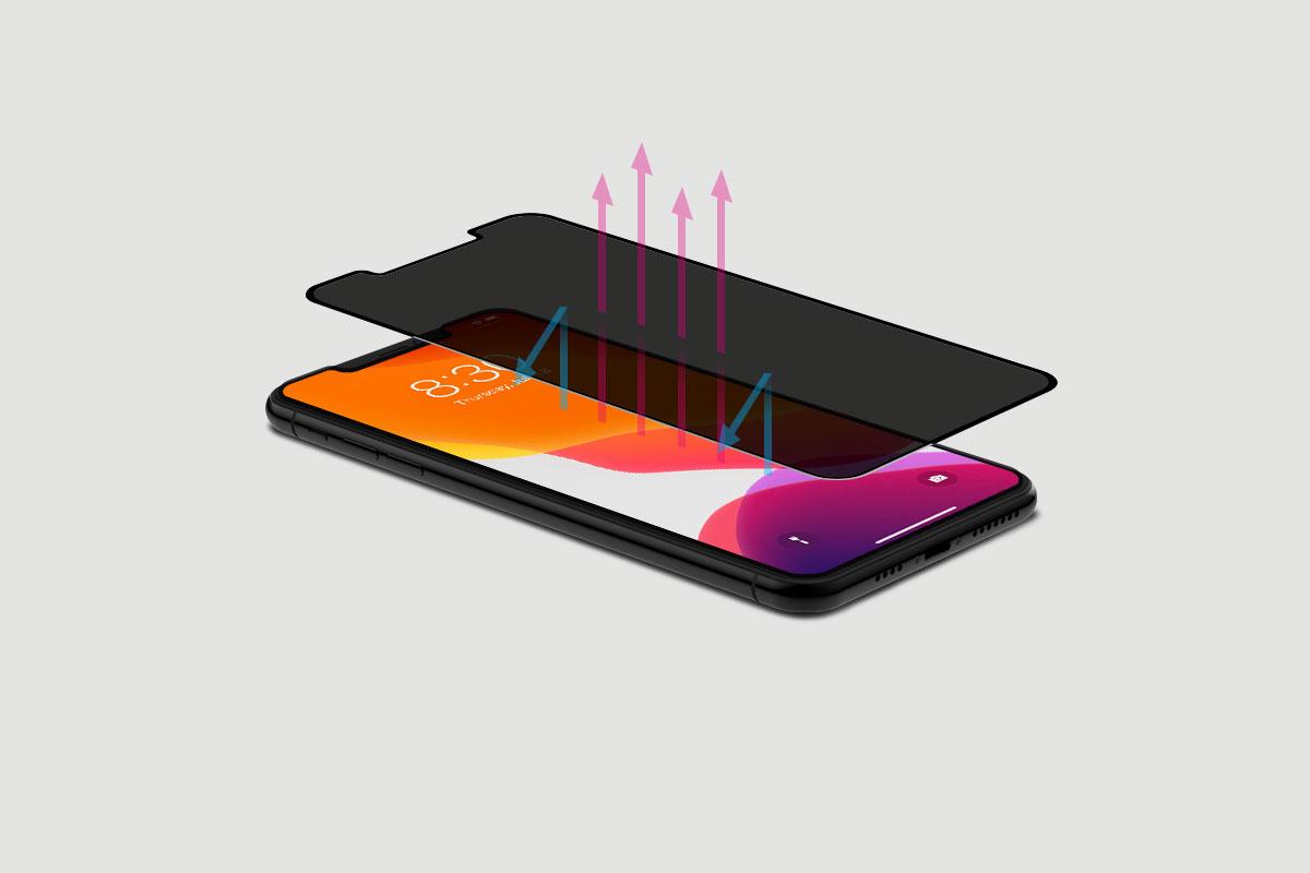 IonGlass Privacy 有效抗蓝光,提供长时间舒适的观看体验。