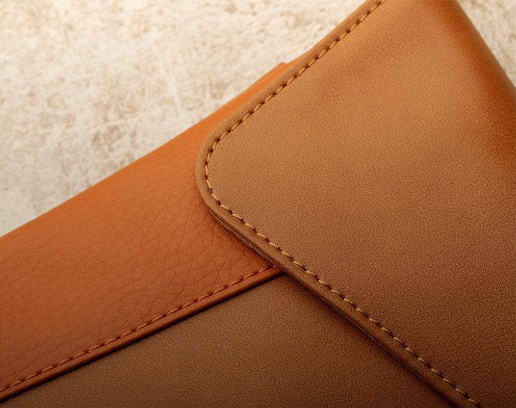 我们的产品采用优质人造皮革,实现了环保和减少对动物的伤害。