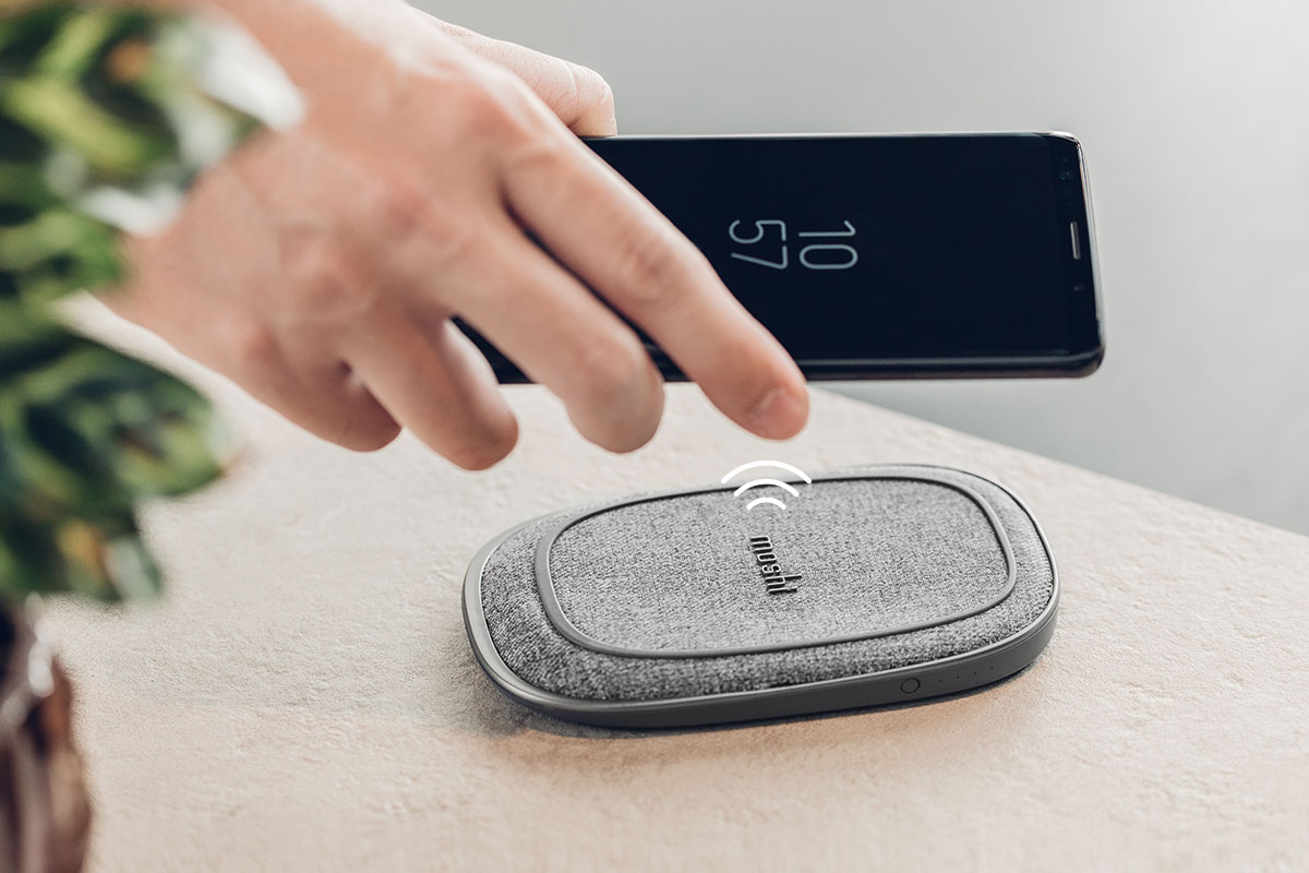 For wireless charging on the go try Porto Q - part of our stylish Q Wireless Charging Series.