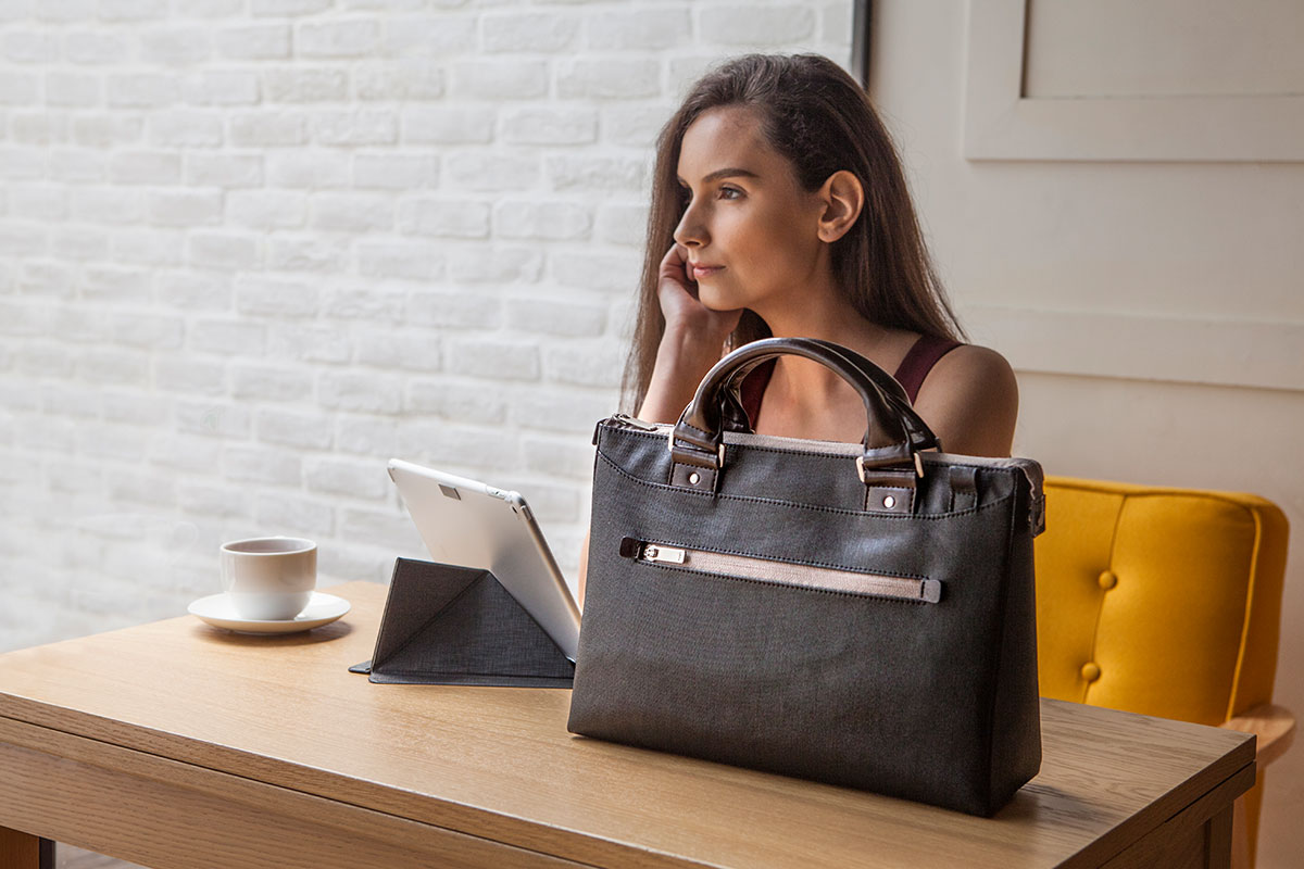 Urbana MiniはMoshiのiPadアクセサリー商品と100%互換性があります。