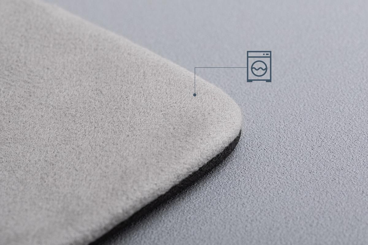 TeraGlove 超細纖維螢幕擦拭布設計可重複使用,僅需簡單的水洗就能乾淨如新。
