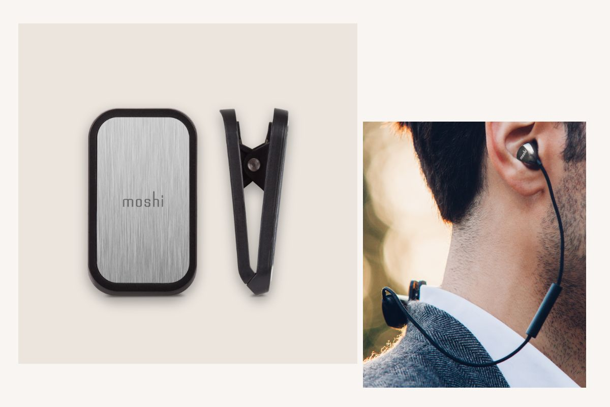 The included magnetic clip helps you keep Vortex Air safely secured to your shirt or jacket. Clip it to the front of your shirt or lapel for quick access to all the buttons, or to the rear of your collar for discreet wearing.