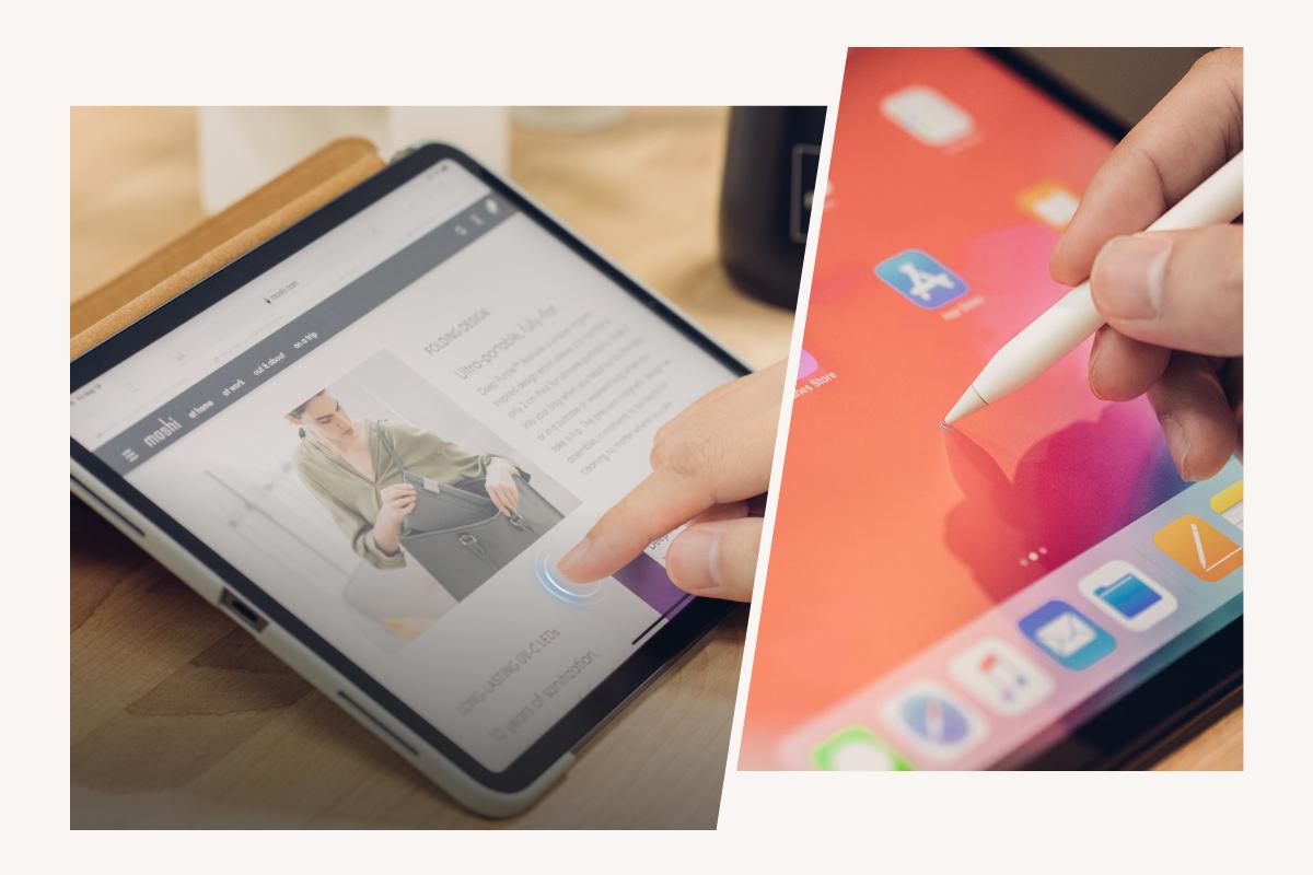 Notre traitement innovant améliore la maniabilité de l'écran tactile et les performances de l'Apple Pencil pour une expérience transparente sur l'iPad.