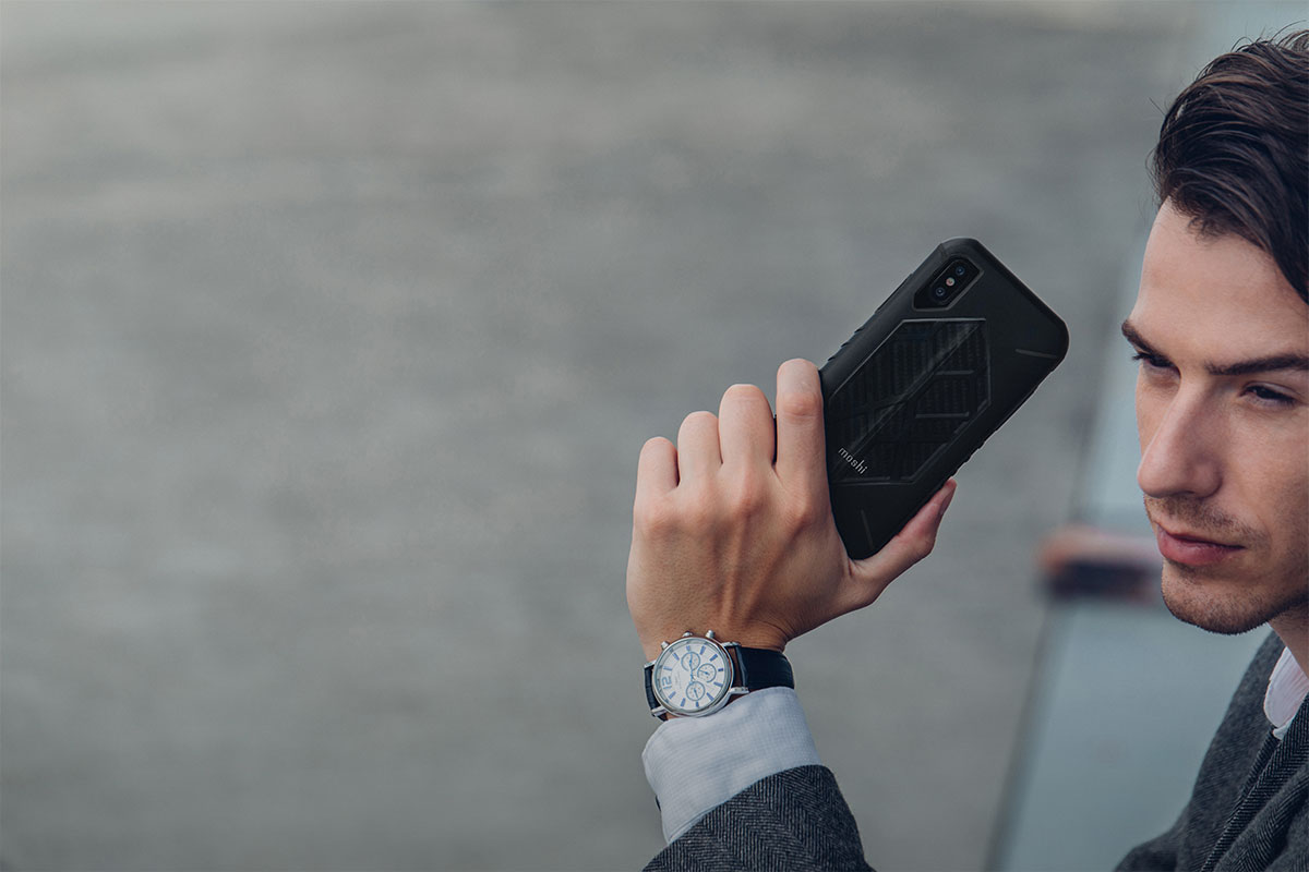 Don't let your phone get away from you at the peak of your adventure. Rugged GripTrak sides help you get optimal purchase for less slips, drops, and near-misses.