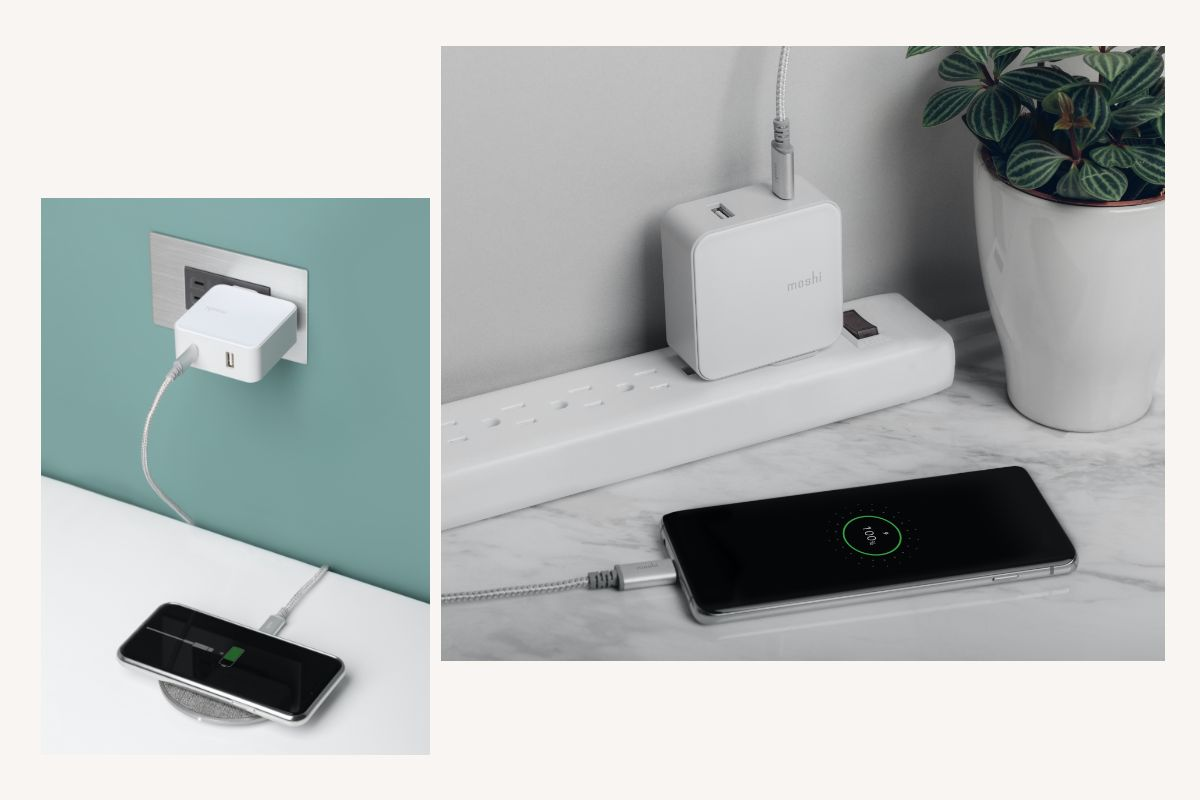 The USB-C port supports Power Delivery 3.0 for fast-charging up to 30 W to charge smartphones up to 2 times faster than a normal USB-A charger and deliver up to 50% charge in less than 30 minutes. Also supports Quick Charge 3.0 up to 12V for Android devices.