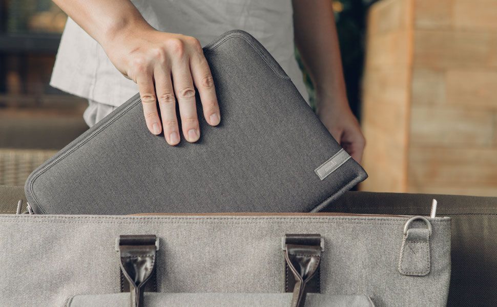 With Pluma, you can rest assured your device is protected with style.