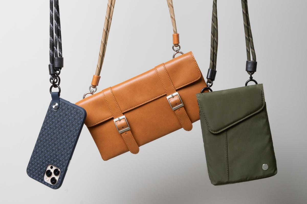 专为配在Moshi的Aro,Aro Mini,Treya Clutch和Altra上而设计,也搭配钱包,钥匙,ID挂牌等。购买任何Moshi产品加购可调式背带可优惠$ 5。 (付款时可享受折扣)