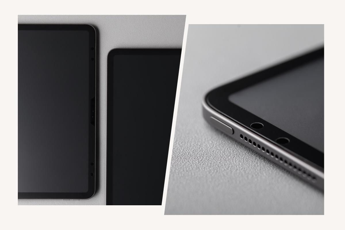 iVisorはiPadのスクリーン全体をカバーするように精密にカットされており最高の状態で本体を保護します。またカメラとセンサーの機能を最適化するために精密なカットアウトが施されています。