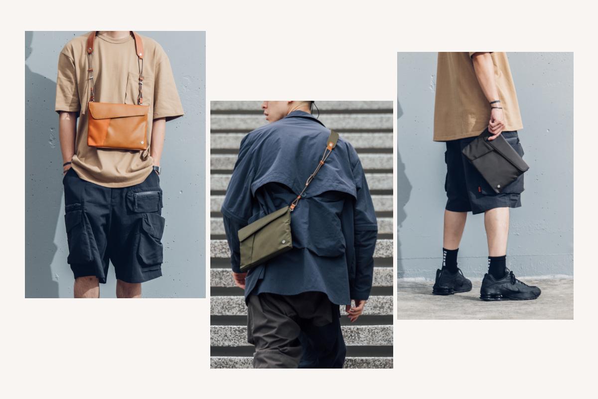 随附的可调节背带使您可以将Aro Mini斜挎在肩膀上,也可以斜挎在外套里面,想改变你的造型吗? Moshi的新款可调式背带可让您在任何场合中找到自己混搭的造型(需另售)。