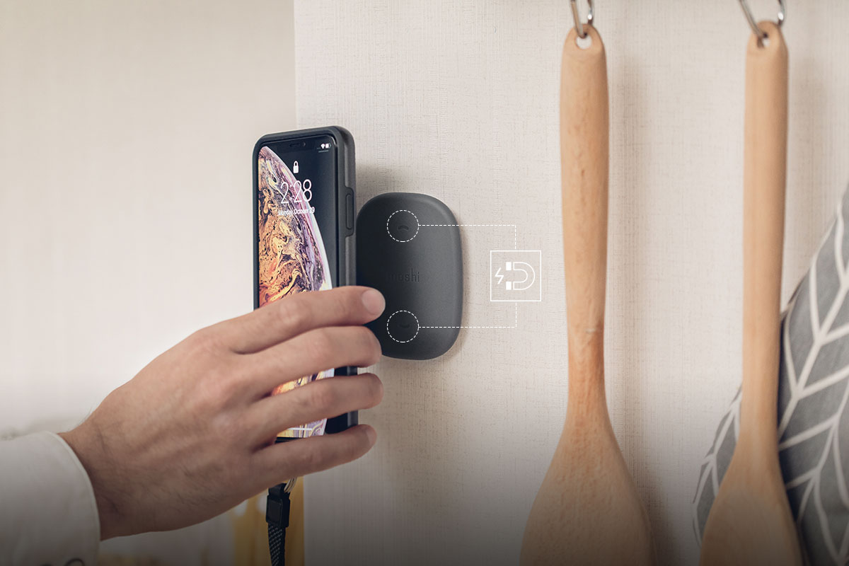 Теперь телефон можно закрепить любом месте — в спальне, на кухне, в ванной или в гараже.