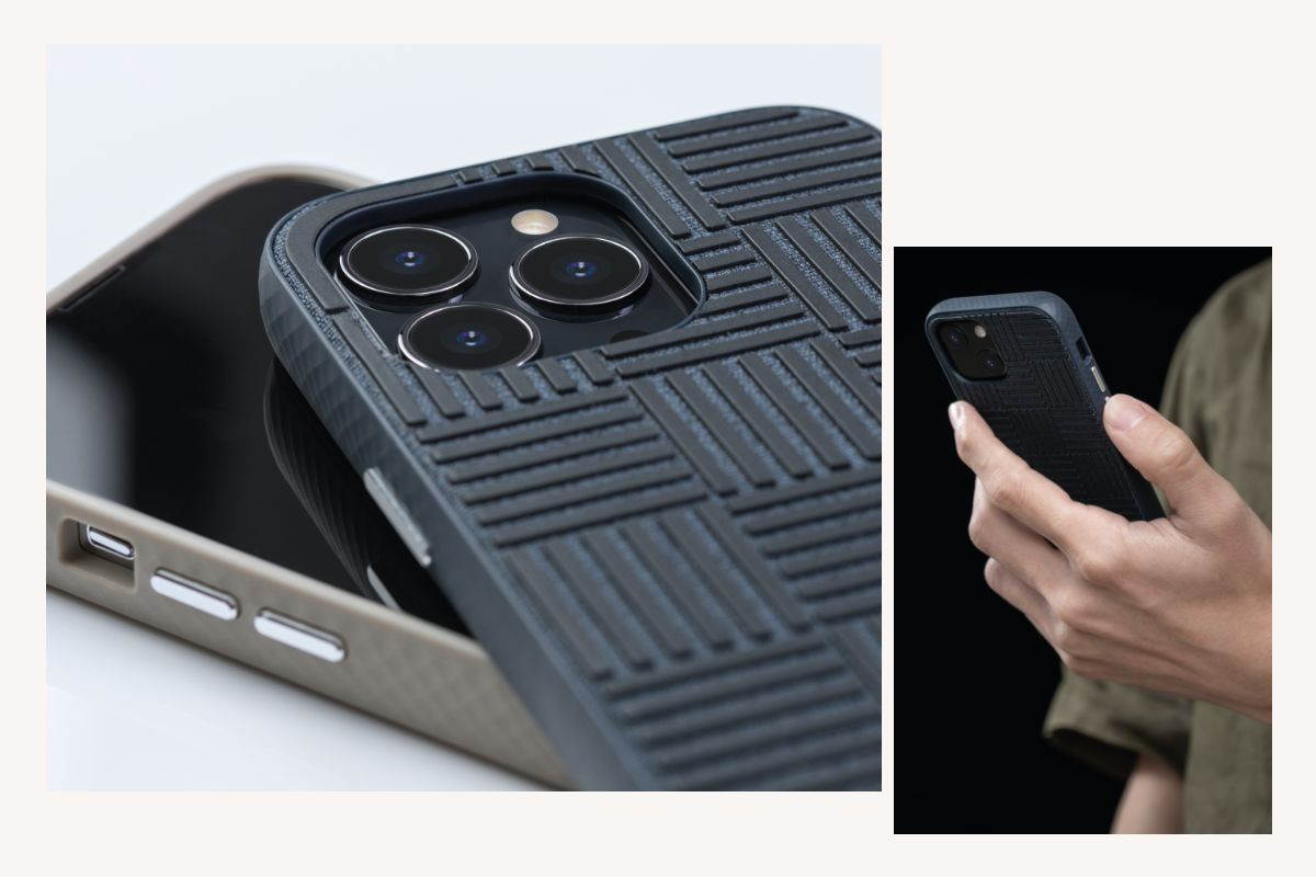 Protège votre écran tactile lorsqu'il est posé à plat tout en offrant une adhérence accrue grâce au motif TPU en relief. Les boutons latéraux métalliques surélevés et optimisés vous permettent de saisir et de localiser facilement les commandes du téléphone.