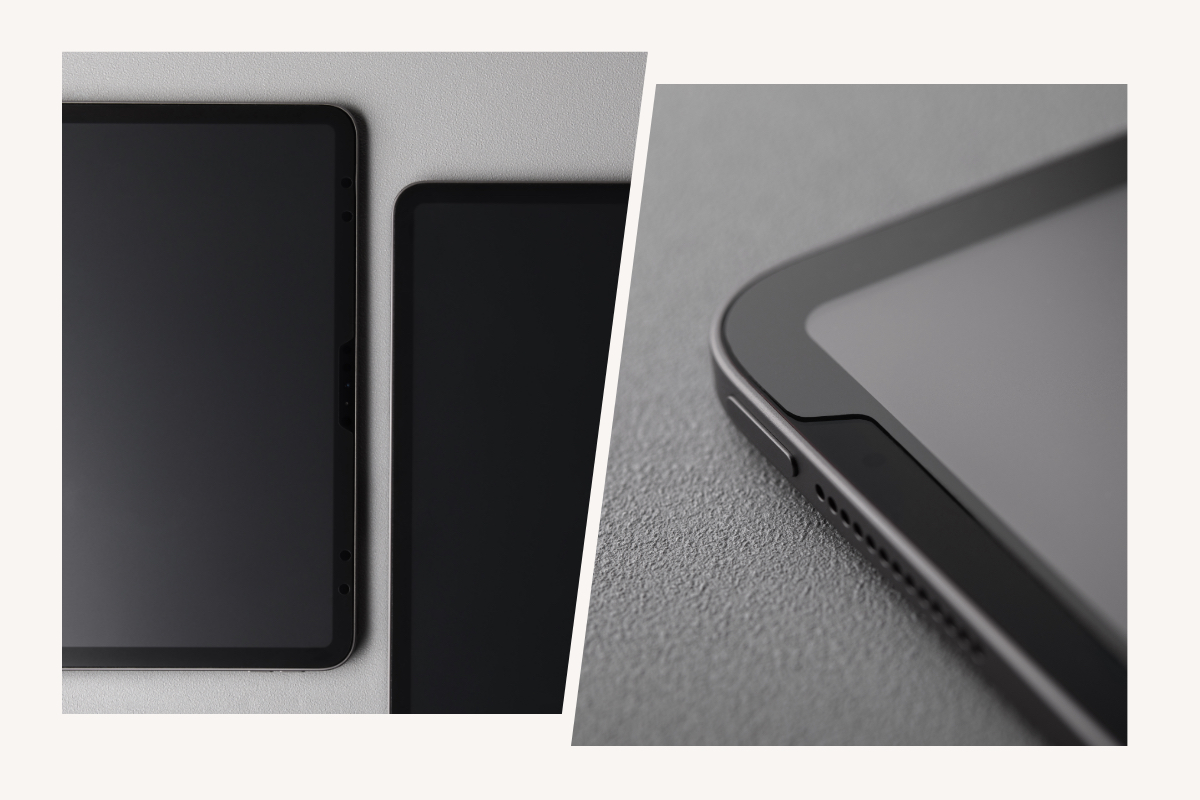 iVisor is precision-cut to cover your iPad's entire screen for the best possible protection, and features custom cut outs for optimal camera, sensor, and button functionality.