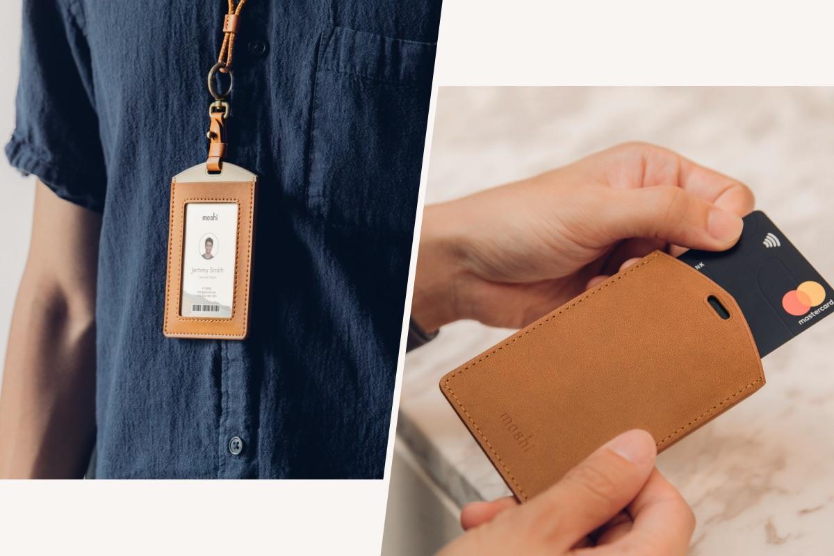 正面的視窗卡槽設計,適合放置識別證/門禁卡;中間的封閉式卡槽,可安全地放入交通卡、信用卡、會員卡等,並保持其可被獨立感應的機能。