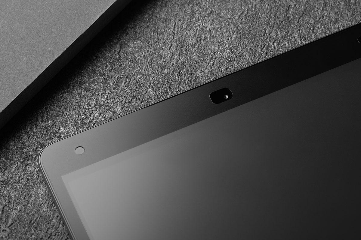 Schützen Sie die gesamte Oberfläche des Touchscreens Ihres iPad für zusätzliche Sicherheit.