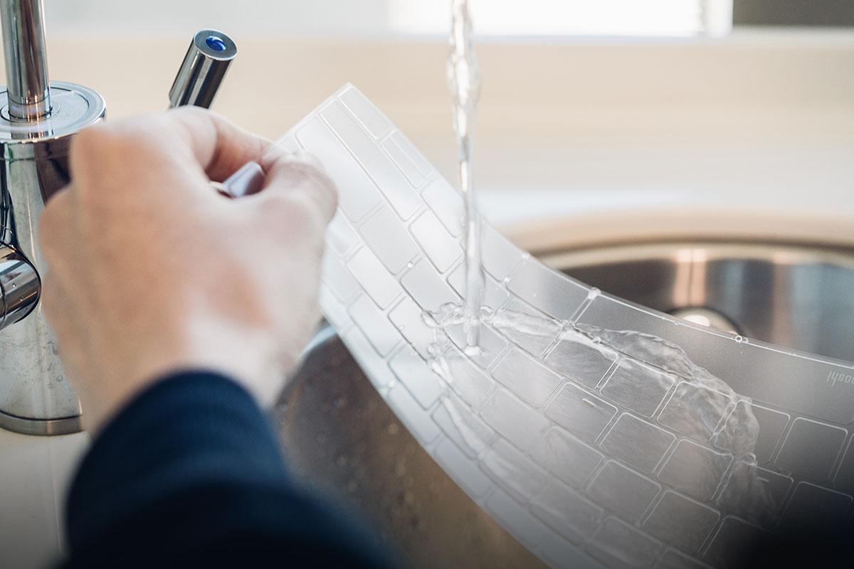 水洗重复使用 ClearGuard,耐用且延长寿命。