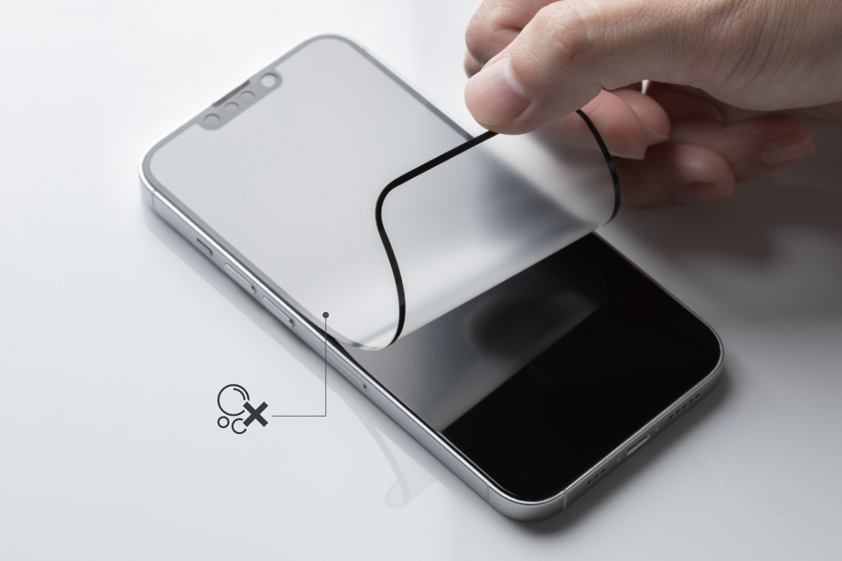 Most screen protectors require a tedious installation process. iVisor's proprietary design allows for a flawless, bubble-free installation in seconds.