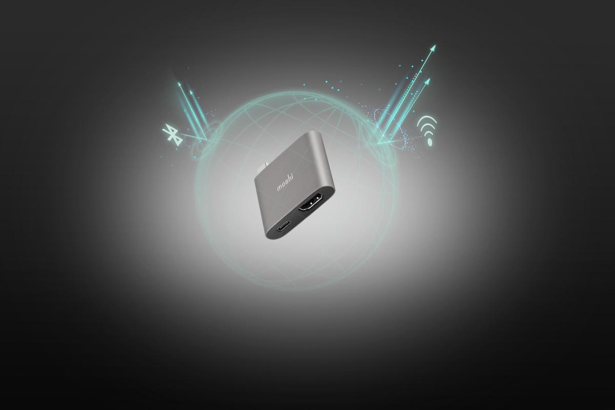 La carcasa de aluminio de grado aeronáutico del adaptador no solo minimiza las interferencias electromagnéticas sino que también proporciona un toque de estilo a tu dispositivo.