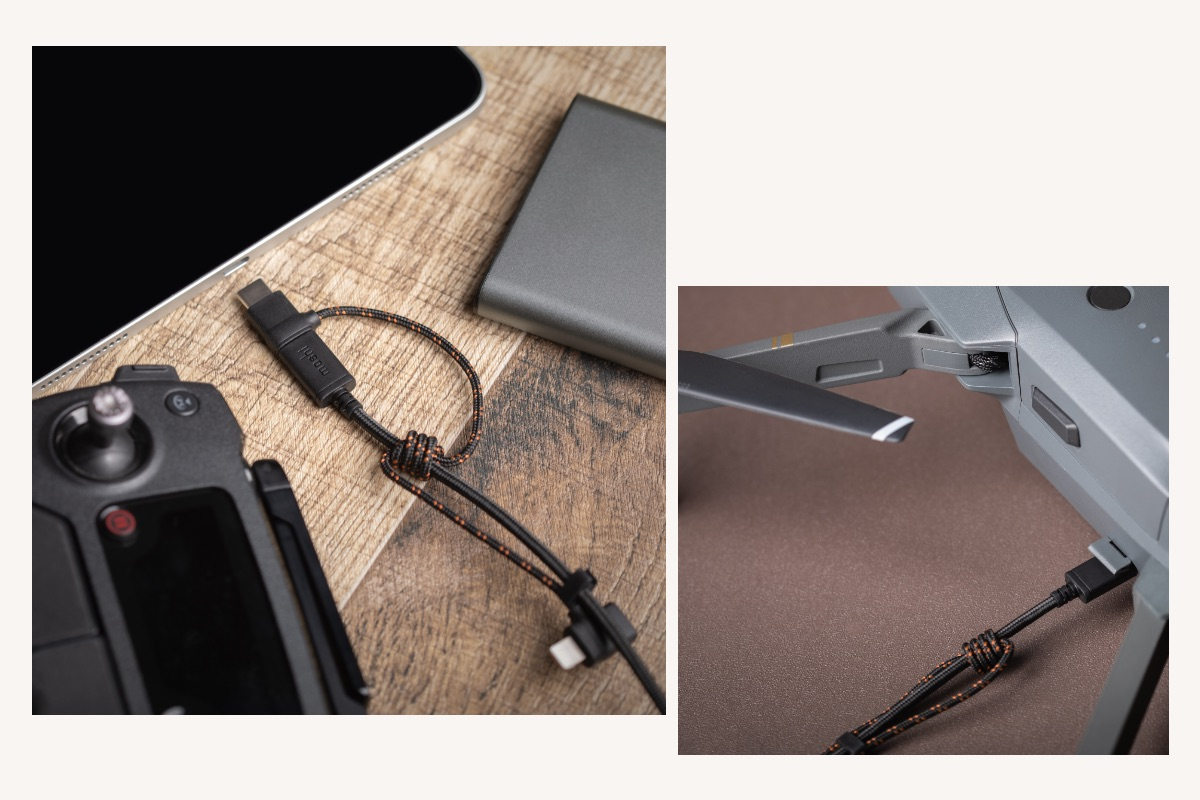 Supports three connector types (Lightning, USB-C, and Micro-USB) to charge almost any device including phones, tablets, drones, cameras and more.