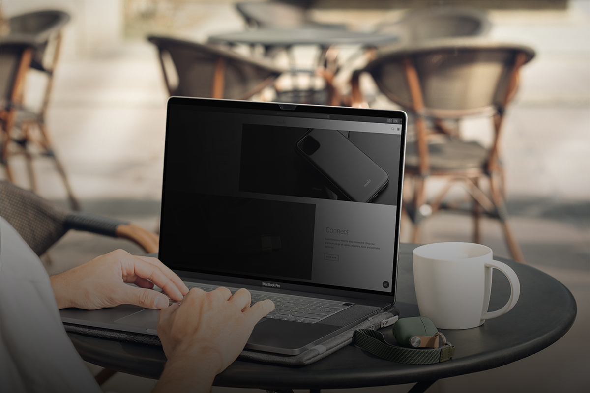 终极防窥屏幕保护膜,带来安全性的同时又不会降低可见度。