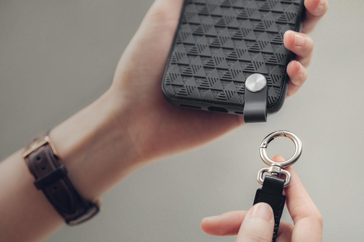 Funktioniert auch als ID-Badge-Halter, Schlüssel, Geldbörse und mehr.